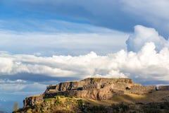 Ruinen von Puka Pukara Lizenzfreies Stockbild