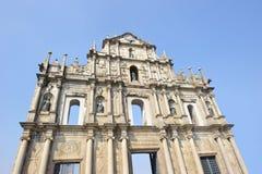 Ruinen von Str. Pauls Stockbilder