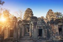 Ruinen von Tempel Prasat Kravan in Angkor Wat Siem Reap, Kambodscha, 12. Jahrhundert Lizenzfreie Stockfotos