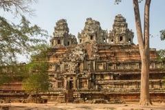Ruinen von Tempel Ta Keo in der alten Stadt von Angkor Stockbilder