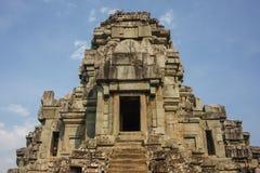 Ruinen von Tempel Ta Keo in der alten Stadt von Angkor Stockfoto