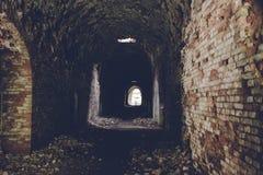 Ruinen von Trakanov-Fort, Rivne-Region, Ukraine Lizenzfreie Stockfotos