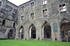 Ruinen von Villers-Abtei, Villers-La-Ville, Wallonien, Belgien stockfoto