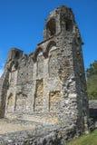 Ruinen von Wolvesey-Schloss, Winchester, England Lizenzfreie Stockbilder