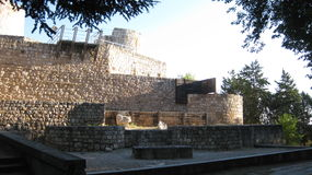 Ruinen: Wände und Schlösser Lizenzfreie Stockbilder