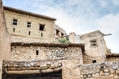 Ruinen Wadi Bani Habib Lizenzfreies Stockfoto
