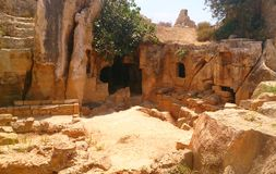 Ruinen in Zypern Stockfotografie