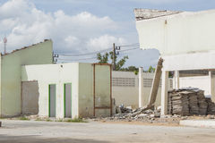 Ruinenhaus Stockfoto