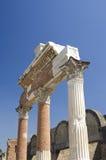 Ruines à Pompeii, Italie Photo stock