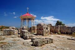 Ruines à Sébastopol Photographie stock