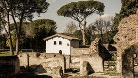 Ruines Royalty-vrije Stock Afbeeldingen