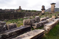 Ruines Photographie stock
