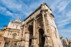 Ruines antichi di Roma Fotografia Stock