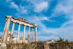 Ruines antiguos de Roma foto de archivo libre de regalías