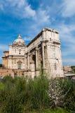 Ruines antiguos de Roma Foto de archivo