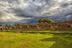 Ruines antiques à Pompeii, Photos stock