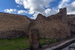Ruines antiques à Pompeii, Photos libres de droits