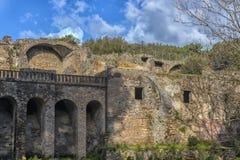 Ruines antiques à Pompeii, Photographie stock libre de droits