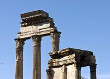 Ruines antiques à Rome Images libres de droits