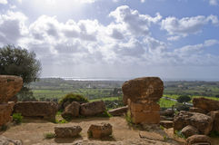 Ruines antiques Image libre de droits