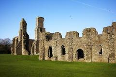 Ruines antiques d'abbaye image libre de droits