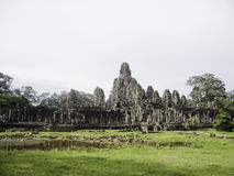 Ruines antiques dans la région d'Angkor du Cambodge Photos libres de droits