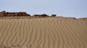 Ruines antiques dans les déserts photo libre de droits