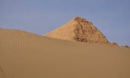 Ruines antiques dans les déserts photographie stock libre de droits