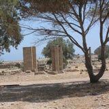 Ruines antiques dans Tolemaide Image libre de droits