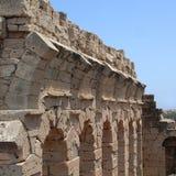 Ruines antiques dans Tolemaide Photo libre de droits
