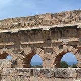 Ruines antiques dans Tolemaide Image stock