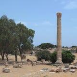 Ruines antiques dans Tolemaide Photos libres de droits