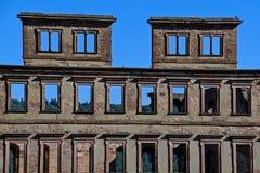 Ruines antiques de château à Heidelberg Allemagne Image libre de droits