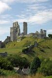 Ruines antiques de fort de château Image libre de droits