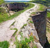 Ruines antiques de forteresse Photo libre de droits