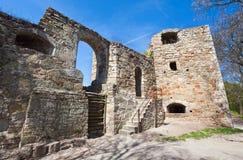 Ruines antiques de forteresse Photographie stock libre de droits