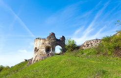Ruines antiques de forteresse Photo libre de droits