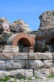 Ruines antiques de forteresse Images libres de droits