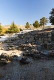 Ruines antiques de Kamiros - Rhodes Image libre de droits