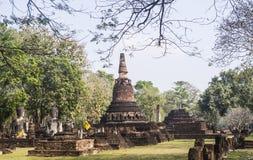 Ruines antiques de l'Asie Image stock