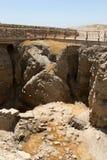 ruines antiques de l'Israël Jéricho photographie stock