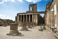 ruines antiques de Pompeii Photo stock