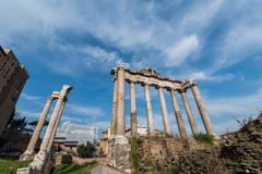 Ruines antiques de Rome Photos libres de droits