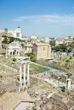 Ruines antiques de Rome, Italie photos stock