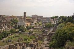 Ruines antiques de Rome, Italie images libres de droits
