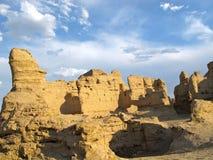Ruines antiques de ville en CHINE Photographie stock libre de droits