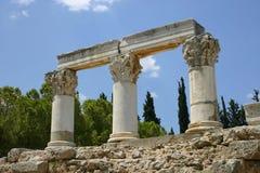 Ruines antiques en Grèce Image libre de droits