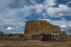 Ruines antiques en Sardaigne, Italie photographie stock libre de droits