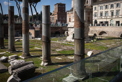 Ruines antiques, Rome, Italie Photographie stock