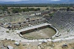 Ruines archéologiques d'Aphrodisias Images stock